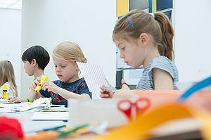 Kunstvermittlung für Kinder im Museum Ritter